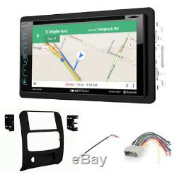 02-07 Jeep Liberty Gps Navigation Bluetooth Usb Double Din Car Radio Stereo