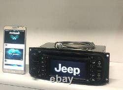 04-07 Chrysler Jeep Dodge GPS Navigation Oem Radio CD UPGRADED With BLUETOOTH