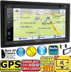 04-10 Chevy Pontiac Saturn Gps Navigation Bluetooth Usb Cd/dvd/aux Stereo Pkg