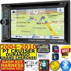 04-10 Pt Cruiser Durango Grand Cherokee Navigation Bluetooth Cd/dvd Car Stereo