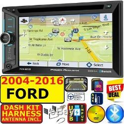 04-16 Ford F150 250 350 450 550 Navigation Bluetooth Usb Sd Aux Cd/dvd Car Radio