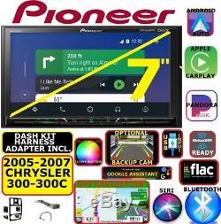 05-07 Chrysler 300 300c Navigation Bluetooth Usb Carplay Android Auto Car Radio