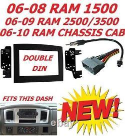 06 07 08 09 10 Dodge Ram DVD Gps Navigation System Bluetooth Car Stereo Radio