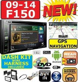 09-14 F150 Pioneer Cd/dvd Gps Navigation Bluetooth Usb App Radio Car Stereo