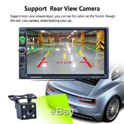 1080P 7 2 Din Car GPS Navigation Bluetooth MP5 AM/FM/RDS Radio Player With Map