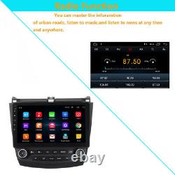 10.1 1080P DVR Honda Accord 03-07 Android 9.1 GPS Navigation DVD Player MA2097