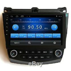10.1 Android 8.1 Wifi Car Radio Bluetooth GPS Navigation For Honda Accord 7th