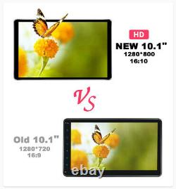 10.1 Inch Android 10 Universal 1 Din Car Stereo 8 Core GPS Navigation 5G WiFi