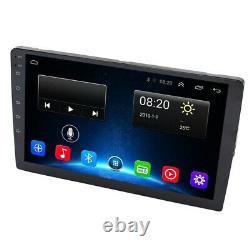 10.1 Inch Android 8.1 Car Bluetooth Wifi Gps Navigation Quad-Core Radio D4M8