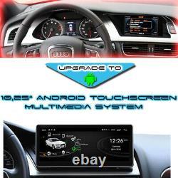 10.25 Touchscreen Android GPS Navigation Bluetooth für Audi A4 A5 MMI 2G High