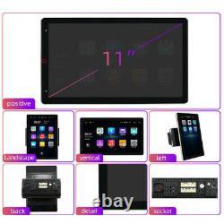 11 1080P Android Bluetooth Car Manual Rotation GPS Navigation Wifi MP5 Player