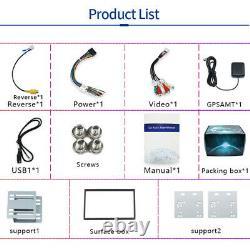 11 Rotatable Car Stereo Radio Player Screen Android Gps Navigation Bluetooth