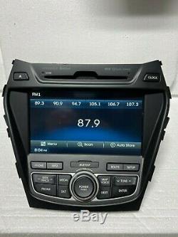 13-16 Hyundai Santa Fe 2.0L CD Navigation GPS Bluetooth Media Radio Receiver OEM