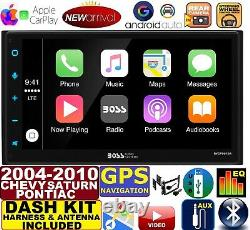 2004-10 Chevy Pontiac Saturn Navigation Apple Carplay Android Auto Car Radio