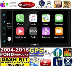 2004-2016 Ford F & E Series Navigation Apple Carplay Android Auto Car Stereo