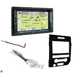 2009-14 F150 Gps Navigation System Bluetooth Usb Cd/dvd Car Radio Stereo Pkg