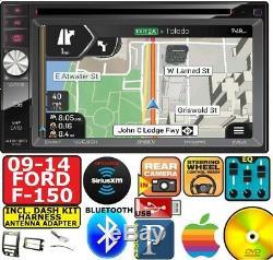 2009-14 F150 Jensen DVD Gps Navigation System Bluetooth Usb Car Radio Stereo
