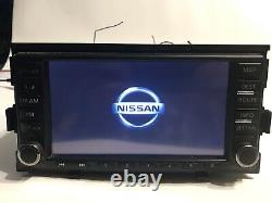 2010 2013 Nissan Altima OEM CD Player Radio XM Navigation GPS Bluetooth Stereo