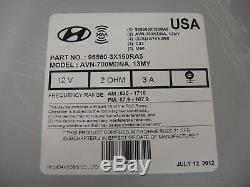 2011-2013 Hyundai ELANTRA OEM GPS Navigation System Bluetooth XM CD Radio
