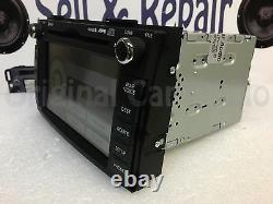2011 2013 Kia Forte Navigation GPS Bluetooth MP3 Single CD 965601M125WK