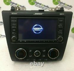 2011 2013 Nissan Altima OEM CD Player Radio XM Navigation GPS Bluetooth Stereo