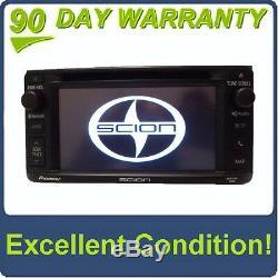 2014 SCION xD Pioneer AM FM HD Radio Bluetooth Navigation GPS CD Player T10015