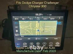 2015 2020 Dodge Charger Challenger Radio Uaq 8.4 Apple Carplay Navigation Gps