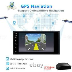 2 DIN 7 Car Stereo Android 8.1 GPS Navigation For Toyota Camry Corolla Prius