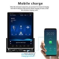 2 DIN Car Stereo Radio 9.5 Vertical Screen Bluetooth GPS Navigation Wifi+Camera