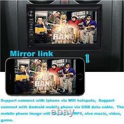 2 Din 7Car Stereo Android Player Radio Bluetooth GPS Navigation & Backup Camera