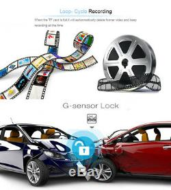 4G Wifi GPS Android Car Truck DVR Camera Navigation Bluetooth With Backup Cam 7.0