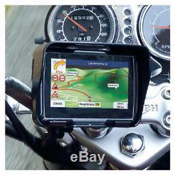 4,3 Bluetooth Motorrad GPS Navigationsgerät BT Auto Navigation Wasserdicht 8GB