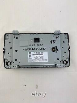 5G0919606 Original VW GOLF 7 VII 5G Navigation Display Bedienteil Discover Pro
