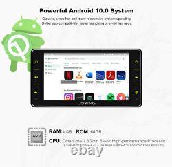 6,2 Zoll Android 10.0 1 DIN Autoradio 4+64GB GPS Navigationsgerät Mit 5Ghz WiFi