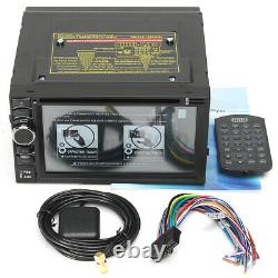 6.5 Inch Car GPS Navigation Radio bluetooth DVD Player Double 2DIN Stereo Touch
