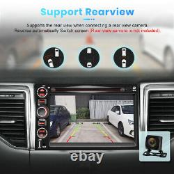7 2 Din Car Radio GPS Navigation Stereo CD DVD Bluetooth FM for Ford F150 Focus