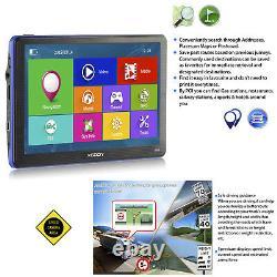7 Bluetooth Wireless Rearview Camera AV-IN 8GB Car GPS Navigation 3D Maps