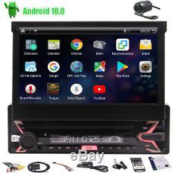 7 Single 1Din In Dash Car Stereo Radio GPS Navigation AUX Navi System Bluetooth