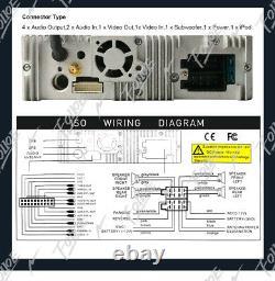 7 Single 1 Din GPS Stereo DVD CD Radio Player navigation In Dash Bluetooth MP3