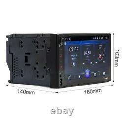 7 Touch Screen Car Android 6.0 System GPS Navigation Bluetooth MP5 Player 1080P