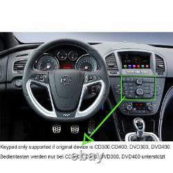 7 Touchscreen Android Autoradio DVD GPS Navigation für Opel Insignia