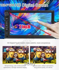 7''inch Estereo De Pantalla Para Coche Carro MP5 Bluetooth Touch Screen GPS Navi
