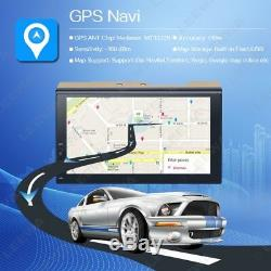 7inch Android 2DIN Car GPS Navigator WIFI Bluetooth Stereo Multimedia Player USB