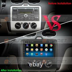 9''Car Android Stereo GPS Navigation Radio fit Ford Focus Exi MK2/3 MT 2004-2011