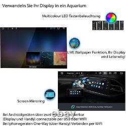 AUTORADIO mit GPS BLUETOOTH DAB+ Navi Doppel 2DIN Navigation MP3 Android 10