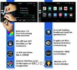 AUTORADIO mit GPS BLUETOOTH DAB+ obd Navi Doppel 2DIN Navigation Android