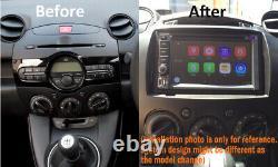Aftermarket Gps DVD Sat Nav Bluetooth Navigation For Mazda 2 2007-2014