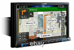 Alpine X308U 8 In-Dash Bluetooth CarPlay Android Navigation GPS Car Receiver