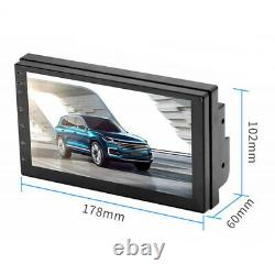 Android 8.1 2Din 7inch Car Radio Touchscreen Stereo GPS Navigation Bluetooth USB