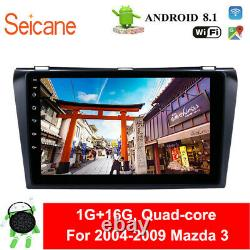 Android 8.1 Car Radio GPS Navigation Bluetooth Head Unit For 2004-2009 Mazda 3